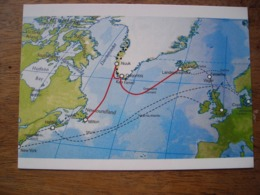 Répresentation Du Timbre, Submarine Cable Câble Sous-marin Greenland Connect - Groenland
