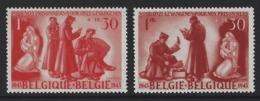 D08 - Belgium - 1943 - OBP 623/624 MNH - Ten Voordele Van Krijgsgevangenen - Ungebraucht