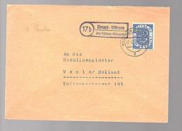 KIRNACH-VILLINGEN über Villingen Schulbrüder > Ursulinakloster Venlo Holland (620) - Brieven En Documenten