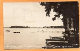 Clear Lake Iowa 1940 Real Photo Postcard - Vereinigte Staaten