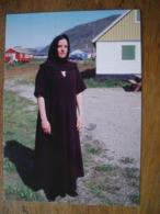 Répresentation Du Timbre,  Arktiske Vikinger 3/1 Magga Karlsen Narsaq Museum Syngronland - Groenland