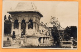 Denpasar Indonesia 1933 Real Photo Postcard - Indonesia