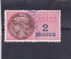 T.F.S.U N°127 A - Revenue Stamps
