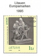 Litauen / Lietuva 1995  Mi.Nr. 580 , EUROPA CEPT - Frieden Und Freiheit - Gestempelt / Fine Used / (o) - Europa-CEPT
