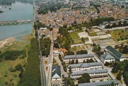 REF.HU . CPM . 58 . LA CHARITÉ SUR LOIRE . VUE GENERALE AÉRIENNE - La Charité Sur Loire