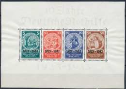 1933 Germany B58 MI Block 2 - Semi-Postal Of 1924 Nothilfe SS - Bloques