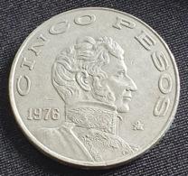MEXICO 5 PESOS 1976 - Mexico