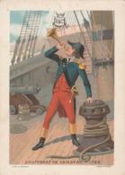 Chromo - H&C - Lieutenant De Vaisseau - 1792 - Kaufmanns- Und Zigarettenbilder