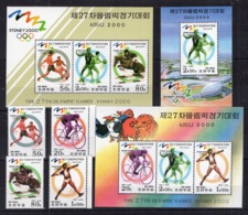 Sport - Sidney 2000 - Football Bascettball On Postage Stamps - MNH** AL - Basketball