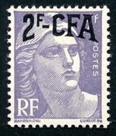 REUNION 1949-52 - Yv. 292 (=FR 883 + Surch) ** TB  Cote= 5,00 EUR - Marianne De Gandon 5f Violet  ..Réf.FRA29033 - Réunion (1852-1975)