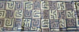 Ethnie KUBA - Zaïre - Congo - Afrique Centrale  - Bande De Velours De Raphia - 4,40 M X 0,62m - Art Africain