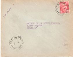 Martinique :- PRECHEUR Dateur B6 - Marcophilie (Lettres)