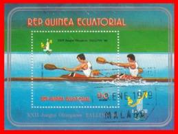 GUINEA ECUATORIAL - 1980 - TALLIN  – TEMATICA  OLIMPIADAS - Guinea Ecuatorial