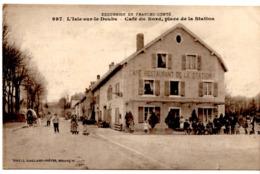 Isle Sur Le Doubs - Café Du Nord, Place De La Station - Isle Sur Le Doubs