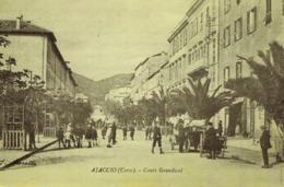 AJACCIO- Cours  Gandwal - (Recto PUB  Cuisines D'Aujourd'hui 105 Cours Napoléon) 22 X 14,5 - Advertising