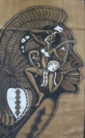 Y. Traoré, Mali - BOGOLAN  Signé : 143 Cm X 94 Cm - Tissu Coton épais - à Monter Ou à Suspendre - Art Africain