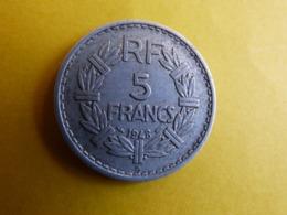 RARE 5 FRANCS 1948B - Zonder Classificatie