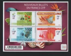 W28 Nouvelle Calédonie 2014 °° Bloc Billets 1208 - 1211 F1208 - Blocks & Kleinbögen