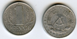 Allemagne Germany RDA DDR 1 Pfennig 1964 A J 1508 KM 8.1 - 1 Pfennig