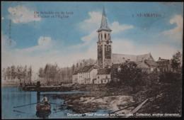 St Amands Aan Schelde ,St Amand Sur L'Escaut , Kerk Marcovici Uitg. Wils Wiels 1912 - Sint-Amands