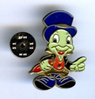 Pin's PINOCCHIO : JIMINY CRICKET EURO DISNEY PARIS - Disney