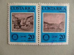COSTA RICA 1987 CLUB ROTARY Yvert Nº 488 / 89 º FU - Costa Rica