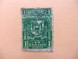 REPUBLICA DOMINICANA DOMINICAINE 1895 ESCUDO Yvert 78 º FU - República Dominicana