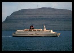 Ferry - M/F Norrona, Smyril Line, Faroe Islands - Ferries