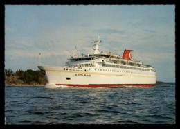 Ferry - M/S Gotland, Sweden - Traghetti