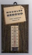 Thermomètre Publicitaire Meubles BEROUD à PONT TRAMBOUZE (69) - 060919 - Autres