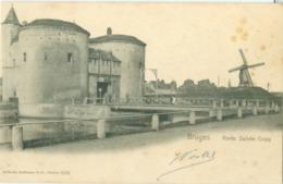 Bruges 1903; Porte Sainte-Croix (Moulin) - Voyagé. (Wilhelm Hoffmann - Dresden) - Brugge