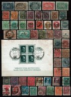 Kleines Lot DR-Block Mit SoSt. - Used Stamps