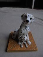 Statuette De Chien - Dalmatien Et Son Chiot - Tiere