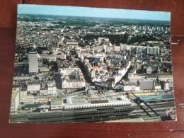 35 - Rennes - Vue Générale De La Gare, S.N.C.F Et L'Avenue Janvier - Au Fond, Le Palais Saint Georges - Rennes