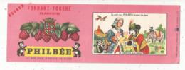 Buvard , PHILBEE ,le Bon Pain D'épices De DIJON ,fondant Fouurré Framboise,n° 19, Dupleix Aux Indes, Frais Fr 1.45 E - Peperkoeken
