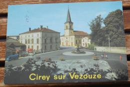 CIREY SUR VEZOUZE PLACE CHEVANDIER L EGLISE - Cirey Sur Vezouze