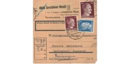 Allemagne  - Colis Postal  - Départ Sprockhövel / 28-4-43 - Allemagne