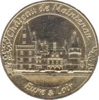 28 MAINTENON LE CHÂTEAU MÉDAILLE TOURISTIQUE MONNAIE DE PARIS 2018 JETON MEDALS COINS TOKENS - 2018