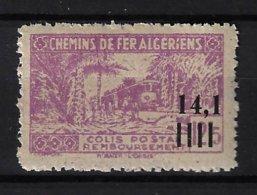 ALGÉRIE / ALGERIA 1944 - YT Colis Postaux 143** - Variété Sans Surcharge Controle Des Recettes - Colis Postaux