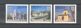 Moldova 1996 560th Anniversary Of Chişinău City 3v** MNH - Moldova