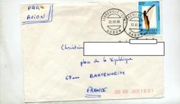 Lettre Cachet Libreville Sur Musique - Gabon (1960-...)