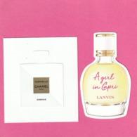 2 Cartes Nouvelles :Gabrielle Essence Et A Girl In Paris - Cartes Parfumées