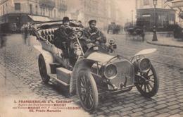CPA L. FRANQUEBALME & L.CHEURET - Agents Des Etablissments MIEUSSET - Passenger Cars