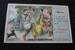 """Chocolat GUERIN BOUTRON : Chromo Série """"Les Instruments De Musique"""" - Guerin Boutron"""