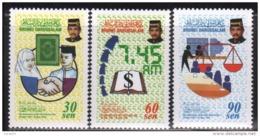 Brunei 1998 S#535-537 Civil Service Day MNH - Brunei (1984-...)