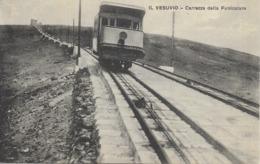 NAPLES- Vintage  Transport  Vésuve Du  Funiculaire .('*Possibilité  Envoi Groupé) - Napoli (Naples)