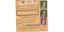 Allemagne  - Colis Postal  - Départ Wien - Allemagne