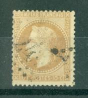FRANCE - N° 28 Oblitéré - 1863-1870 Napoléon III Lauré