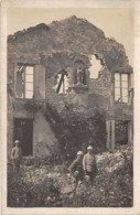 Militaria - Carte Photo - Souvenir De CHATILLON SOUS LES COTES - 24 Septembre 1916 - Ruines - église - Francia