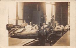 Militaria - Carte Photo - Juin 1915 - Hôpital Bénévole Anglais Dans L'Hôtel Des Grèves à PARAME - Infirmière - Parame